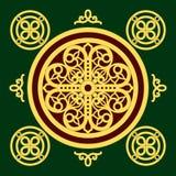 Christian orthodox pattern Royalty Free Stock Photo