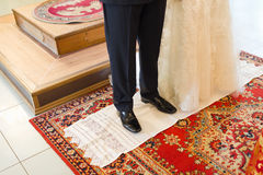 Christian orthodox wedding ceremony Stock Image