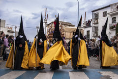 Christian Procession Of The Holy Week. Stock Photo