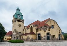 Christian Protestant Church, Qingdao images stock