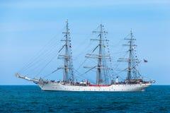 Christian Radich - bateau grand - la Mer du Nord images libres de droits