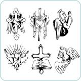 Christian Religion - vector illustration. Stock Images