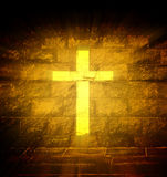Christian religious cross Stock Photos