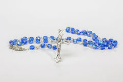 Christian rosary isolated Stock Photos