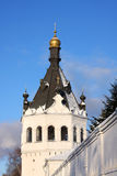 Christian Russian Bogoyavlensky monastery Royalty Free Stock Photo