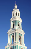 Christian Russian  church . Bell tower Stock Photos