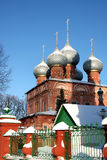 Christian Russian monastery Royalty Free Stock Photo