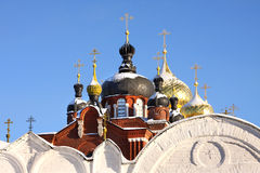 Christian Russian monastery royalty free stock images