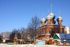Christian Russian Znamensky monastery Royalty Free Stock Image
