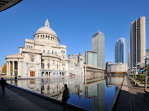Christian Science Plaza and Prudential Center Royalty Free Stock Photography