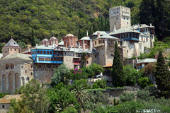 Christian shrine on Mount Athos Royalty Free Stock Photography
