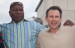 Christian Slater and Ving Rhames Stock Photography