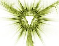 Christian symbol of God - 3D f stock photos