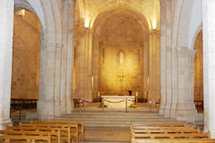 Christian temple. Interior fragment of the St Anne's Church, Jerusalem Royalty Free Stock Image