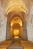 Christian temple. Interior fragment of the St Anne's Church, Jerusalem Royalty Free Stock Photo
