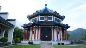 Christian Temple i Hong Kong Royaltyfria Bilder