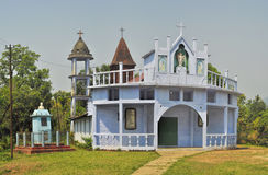 Christian temple in India Stock Photos