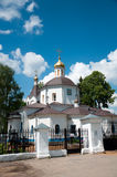 Christian temple, landmark in Moscow, Russia Royalty Free Stock Photo