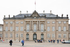 Christian VIII's Palace in Copenhagen Stock Photos