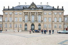 Christian VIII's Palace in Copenhagen Royalty Free Stock Image