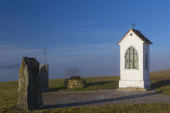 Christian Wayside Shrine Stockbild