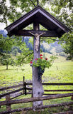 Christian Wayside Shrine Royalty Free Stock Image