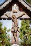 Christian Wayside Shrine Stock Photo