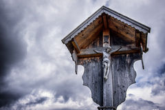 Christian Wayside Shrine Stock Photography