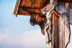 Christian Wayside Shrine Royalty Free Stock Photography
