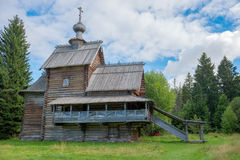 Christian Wooden  Church Royalty Free Stock Photography