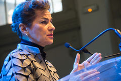 Christiana Figueres, Executive Secretary of the United Nations climate convention Stock Image