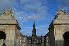 Christianborg宫殿 免版税图库摄影