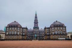 Christianborg Castle Στοκ εικόνες με δικαίωμα ελεύθερης χρήσης
