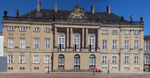 Christianborg, Copenhague Imágenes de archivo libres de regalías