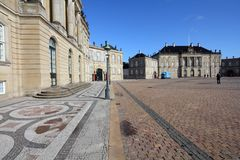 Christianborg, Copenhague Foto de archivo libre de regalías