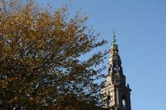 CHRISTIANBORG PALACE-DANISH议会大厦 免版税库存照片