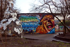 Christiania, Freetown in Copenhagen, Denmark Royalty Free Stock Photo