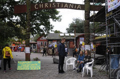CHRISTIANIA-HASCH-FREIER BEREICH Lizenzfreies Stockfoto