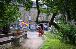 Christiania - self-proclaimed autonomous neighbourhood in Copenh Royalty Free Stock Image