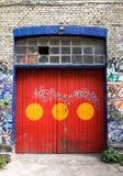 Christiania Tür Stockbilder