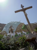 Christianisme de Copte en Egypte Image stock