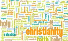 Christianity. Or Christian Religion as a Concept Stock Photos