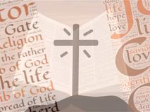 Christianity Bible Knowledge Background Royalty Free Stock Photos
