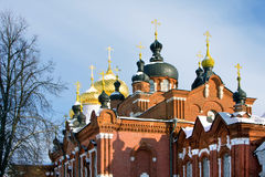 Christianity Cathedral. In Russia,  Kostroma city, Bogoyavlensky female monastery Stock Photography