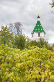Christianity cathedral in Russia, Kostroma city, Ipatievsky monastery, Cradle of the house of Romanovs Stock Photography