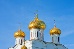 Christianity  cathedral in Russia, Kostroma, Ipati Royalty Free Stock Image