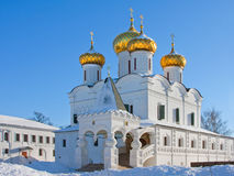 Christianity  cathedral in Russia, Kostroma, Ipatievsky monastery Royalty Free Stock Photography