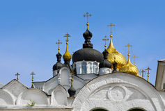Christianity chathedral in Russia Royalty Free Stock Photo