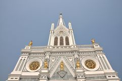 Christianity Church Building Outdoor Top Royalty Free Stock Images