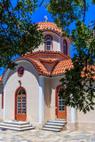 Christianity church in Greece Royalty Free Stock Images